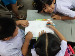 Students at a Thai School