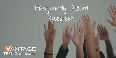 FAQs for teaching English online