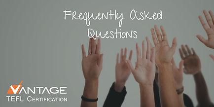 FAQs -The Online English Teacher