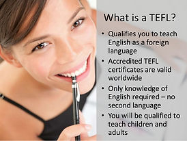 What is a TEFL?