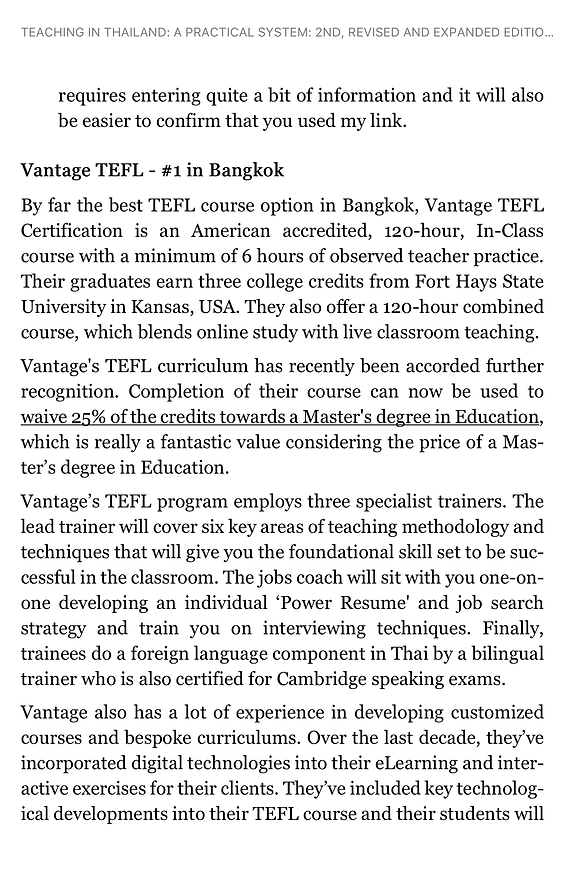 Teaching in Thailand | A Practical System | Vantage TEFL Reviewed