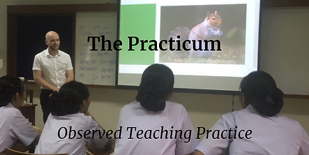 Vantage TEFL's Observed Practice Teaching