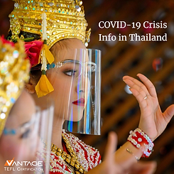 Updated Covid=19 Information in Thailand