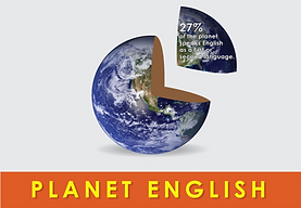 27% of Planet Earth speaks English
