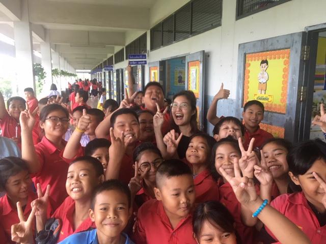 It's fun teaching at a Thai School