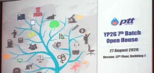 PTT's Young People to Globalization Program