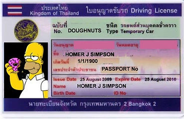 Why and how to get a Thai Driving License