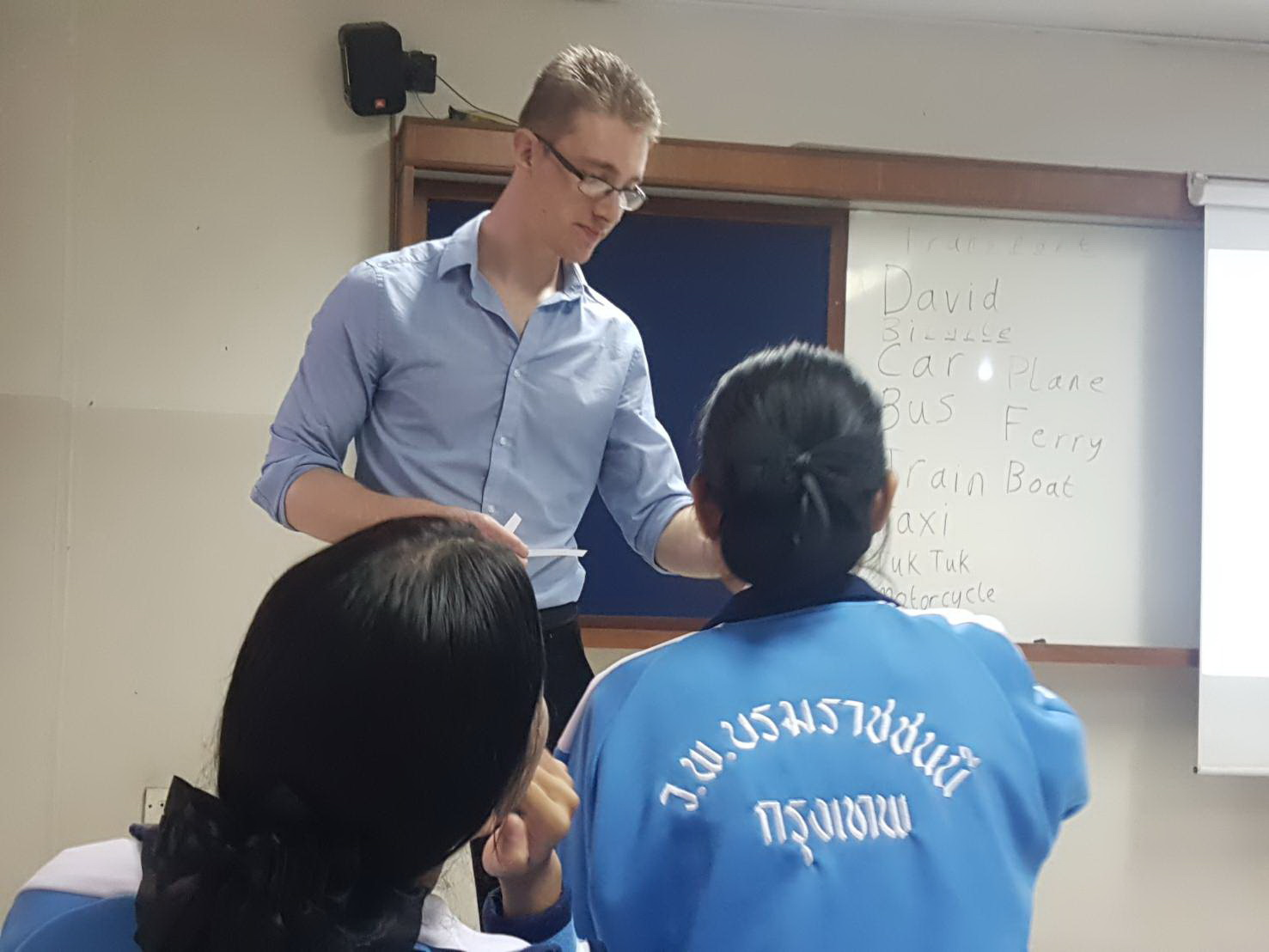 TEFL Observed Teaching Practice