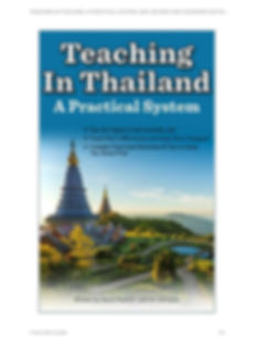 Vantage TEFL review in Teaching in Thailand book.