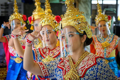 Covid Protection for Thai Classical Dancers