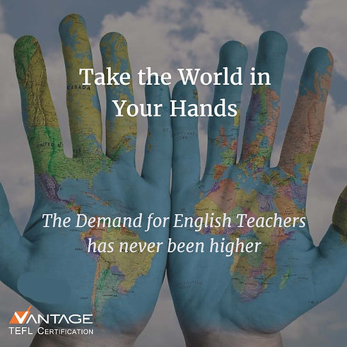 The demand for English teachers has never been higher