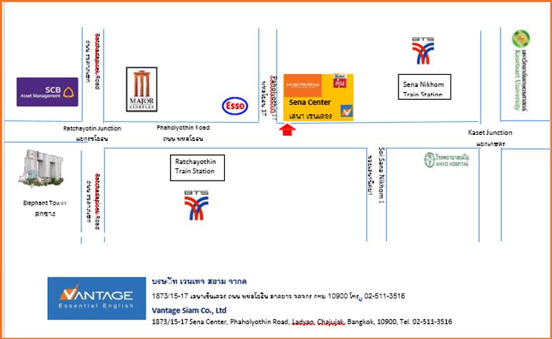 A Map to Vantage TEFL