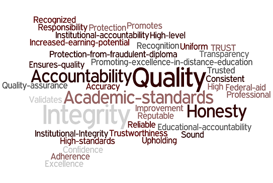 Accreditation means accountability of academic standards