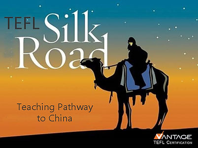 Apply now for the TEFL Silk Roa