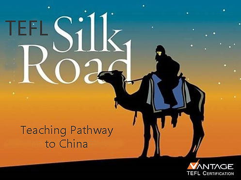 Teaching pathway to China on the TEFL Silk Road