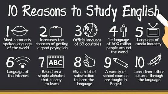 10 Reasons to Study English