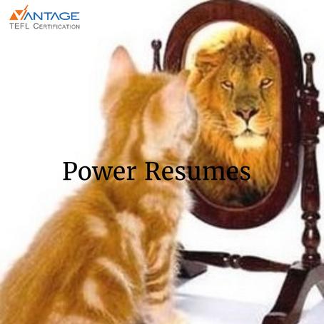 Create a Power TEFL Resume