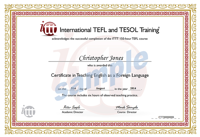 ITTT 150-hour sample TEFL + LP cert.png