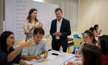 British Council introduces the communicative teaching approach to Thailand