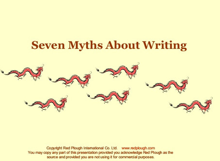7 Myths about Writing