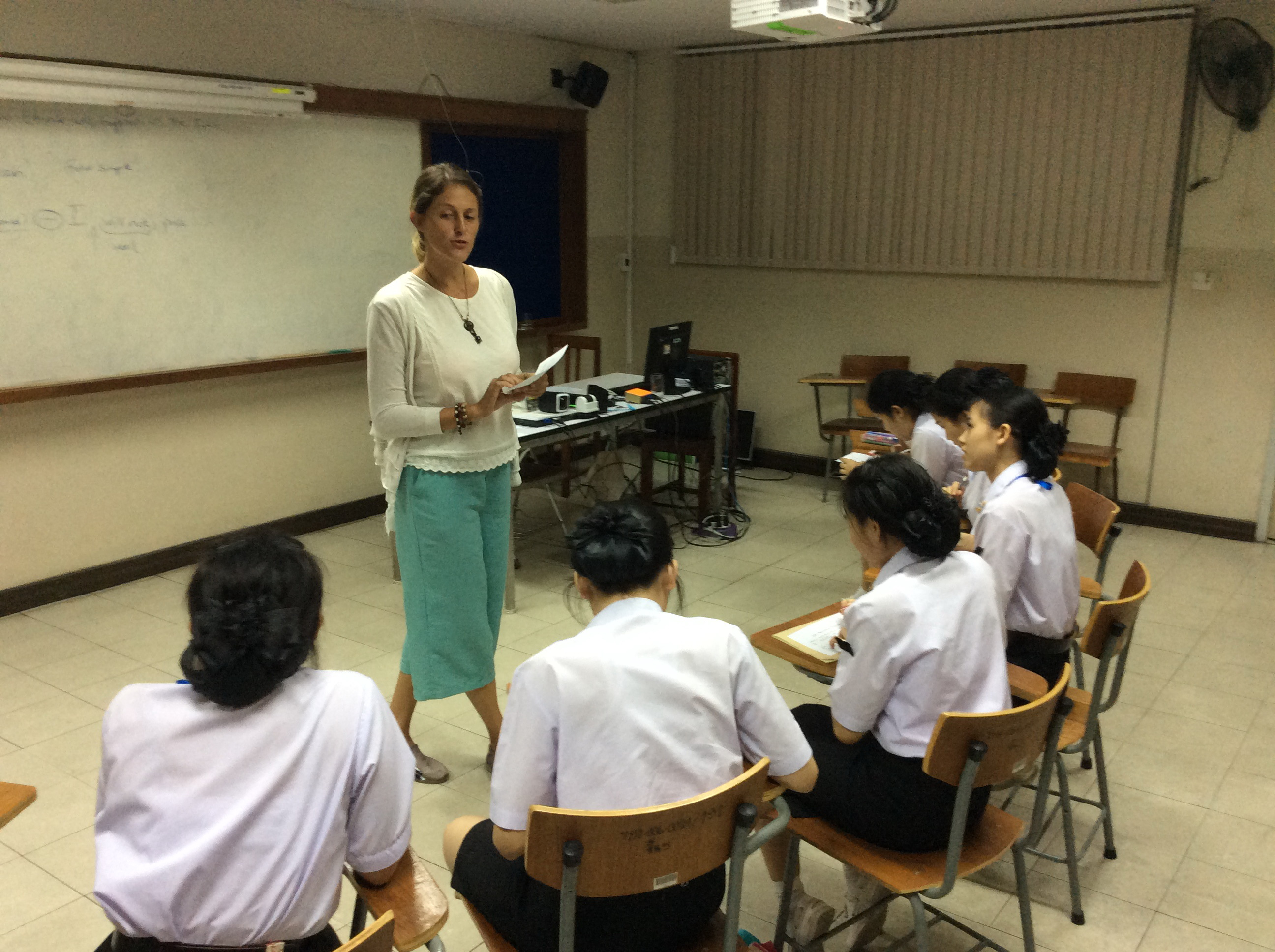 Observed teaching practice
