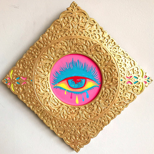 Evil Eye Painting (Diamond, #4)