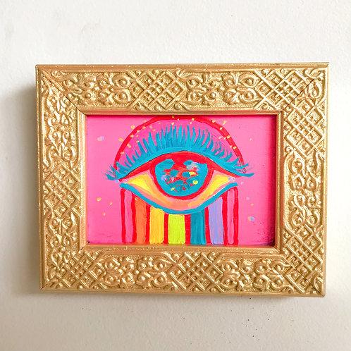 Evil Eye Painting (Mini Rectangle, #2)