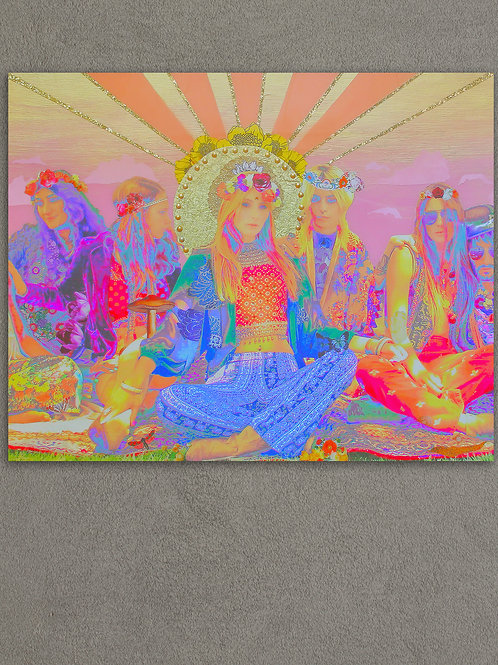"""""""First Trip, Last Supper"""" Limited Edition Loose Print - 8X10 OR 11X14"""