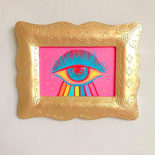 Evil Eye Painting (Rectangle, #9)