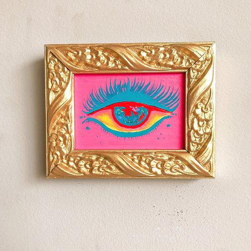 Evil Eye Painting (Mini Rectangle, #5)