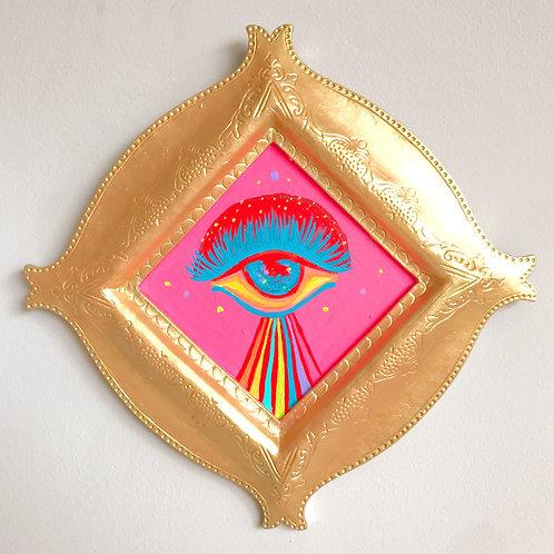 Evil Eye Painting (Diamond, #1)