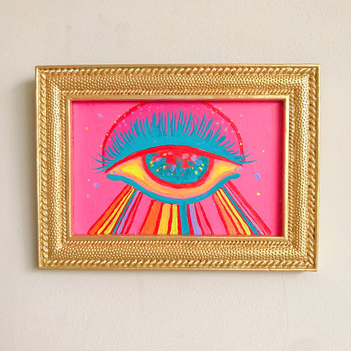 Evil Eye Painting (Rectangle, #10)