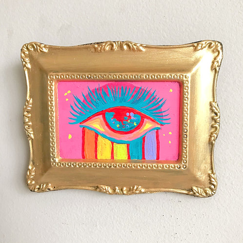 Evil Eye Painting (Mini Rectangle, #6)