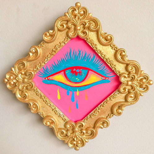 Evil Eye Painting (Diamond, #8)
