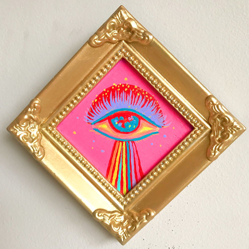 Evil Eye Painting (Mini Diamond, #3)