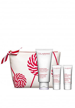 Clarins body care essentials gift set