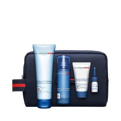 Clarins Mens hydration essentials gift set