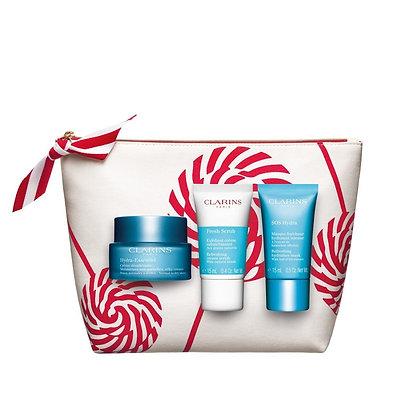 Clarins hydration essentials gift set