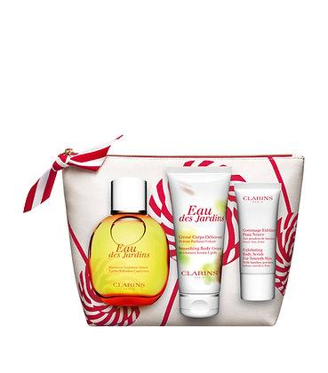 Clarins Eau Des Jardins collection gift set