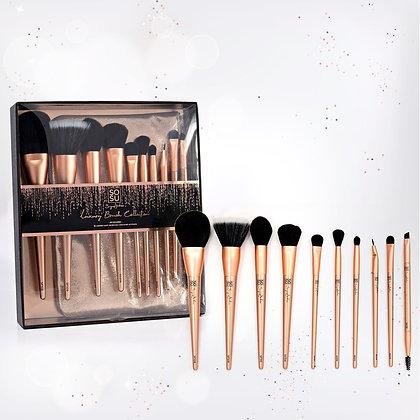 SoSu Luxury Brush Set - 10 Piece