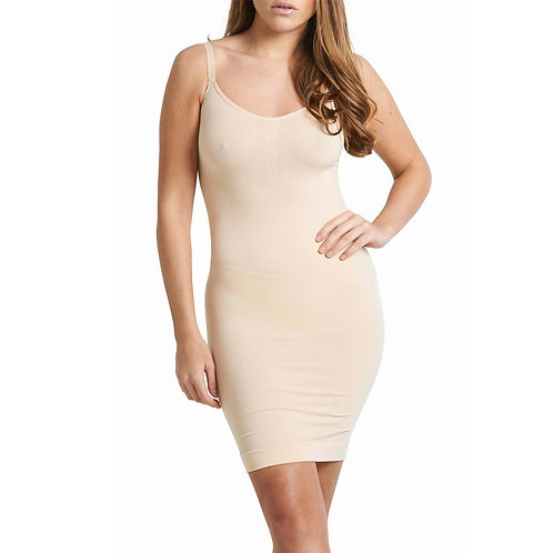 Corrigerende onderjurk Dress Basic Zwart of Nude