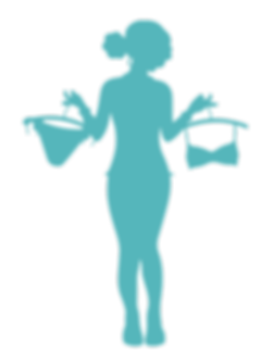 silhouette-of-a-woman-holding-underwear-