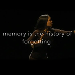 Memory is the History of Forgetting