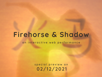 Less than three weeks until FIREHORSE & SHADOW!