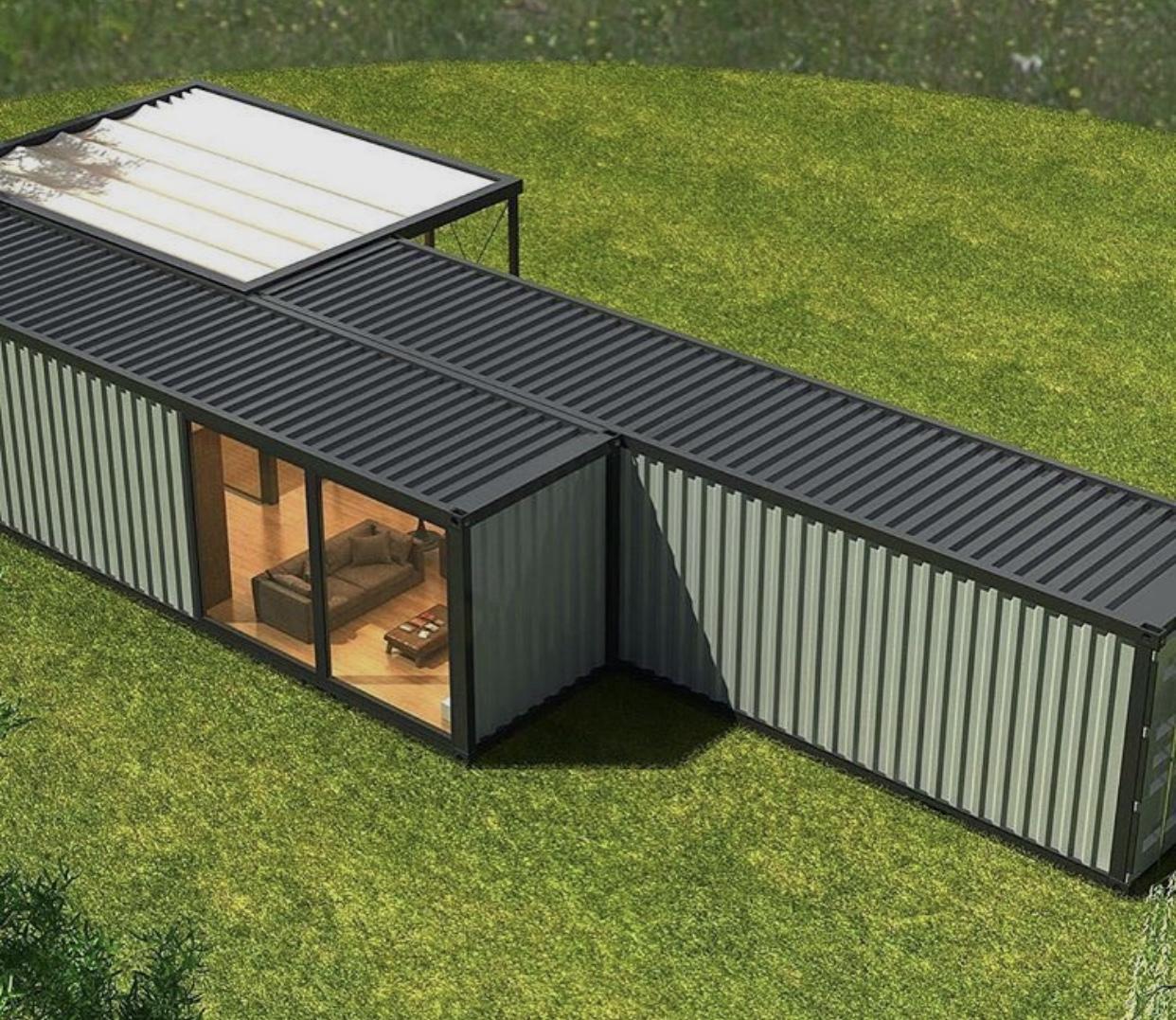 Casa Container 60m² - Deck 42m²