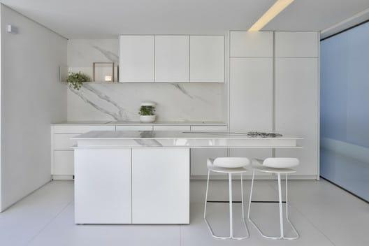 cozinha white container house