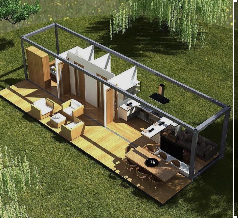 Casa Container 30m2 - Deck 30m2