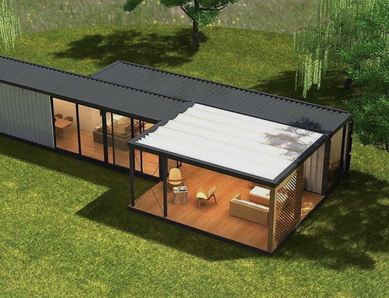Casa Container 60 m² - Deck 42m²