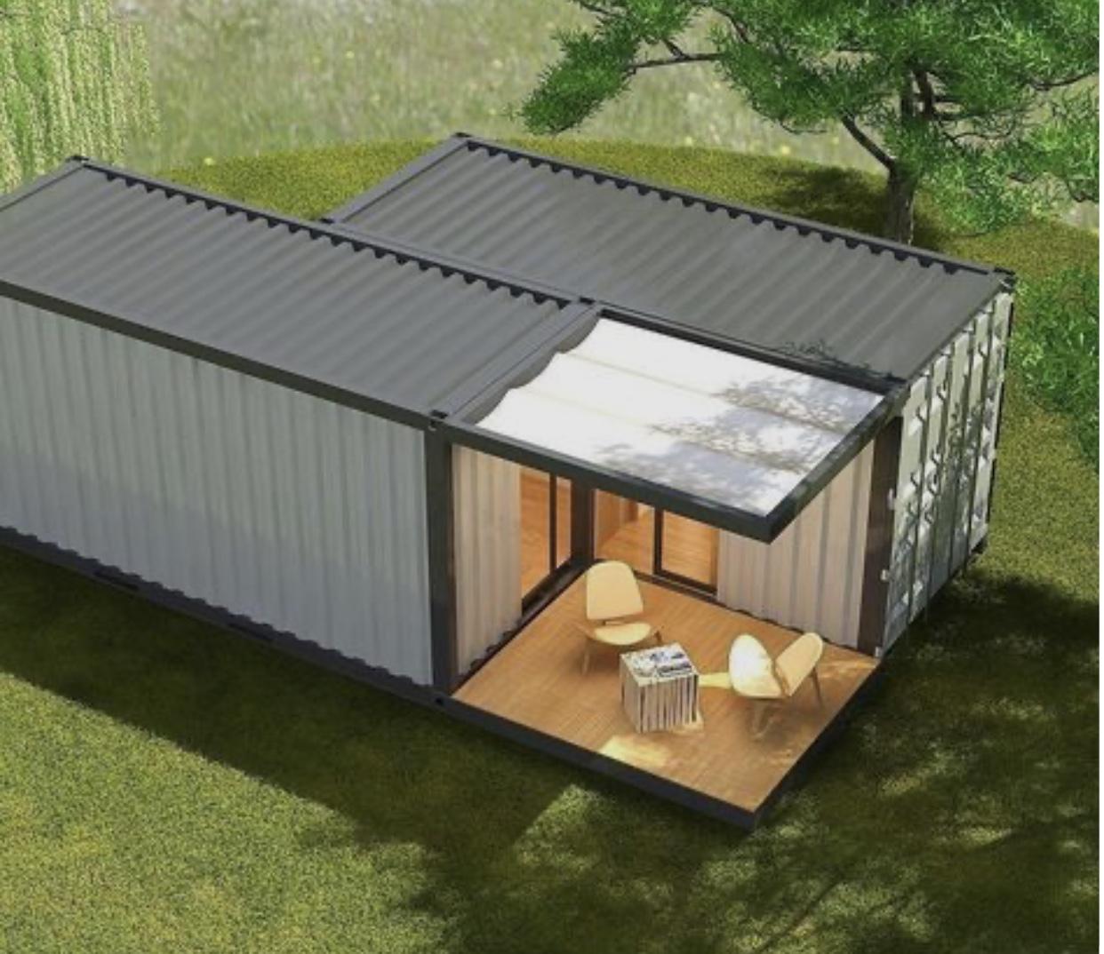 Casa container 37m²