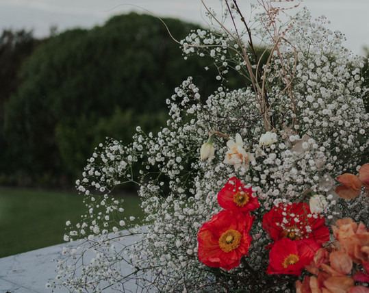 Songbirds_One Poppy Wedding Flowers Devo